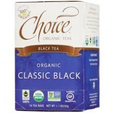 Black Tea - Choice Organic Fair Trade Tea, 80 bags